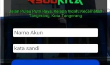 Kini Cek Ketersediaan Kamar dan Prakter Dokter RSUD Kota Tangerang Bisa via Ponsel