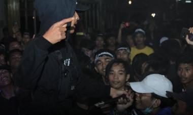 Mantan Honorer Kelurahan Kota Tangerang, Anjar Ox's Jadi Penyanyi Rap Jempolan