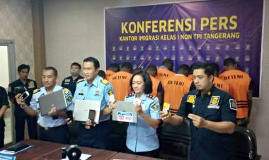 WNA Ilegal Diamankan dari Komplek Perumahan Lippo Karawaci Tangerang