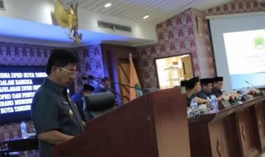 Hadir Dalam Rapat Paripurna DPRD Penetapan Tiga Raperda, Walikota : Hak Disabilitas Harus Terpenuhi