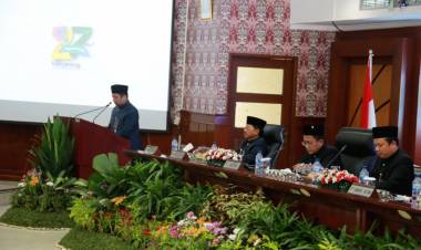Paripurna HUT Ke 27 Kota Tangerang, Wali Kota Sampaikan Capaian Pemkot, Mulai Bangun Ribuan Drainase Hingga Bedah Rumah