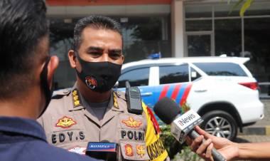 Jelang Idul Fitri, Kabid Humas Polda Banten Cek Larangan Mudik di GT Cikupa