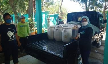 Bupati Tangerang Kirim Cairan Biotech Bantu Airin Atasi Bau Busuk TPA Cipeucang
