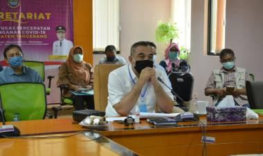 PSBB Di Tangerang Raya Diperpanjang, Bupati Zaki Izinkan Buka Tempat Ibadah dan Sekolah Tetap Tutup