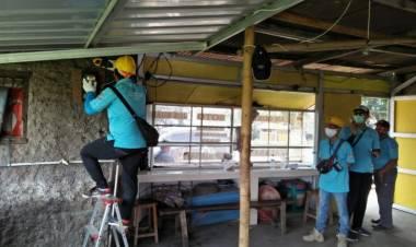 Waduh! Rumah Makan Hingga Pertokoan Disekitar Bandara Soetta Diduga Curi Listrik