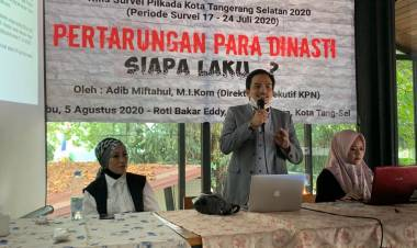 Direktur Kajian Politik Nasional : Survei Kami Bikin Lembaga 'ABS' Kebakaran Jenggot