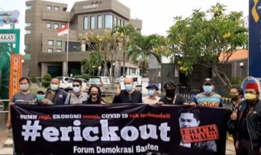 Dinilai Gagal, Desakan Agar Erick Out Kencang di Tangerang dan Banten