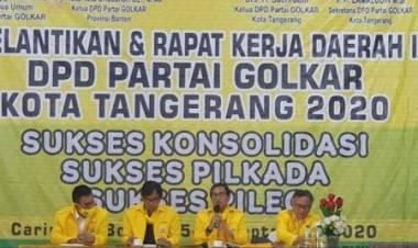 Golkar Kota Tangerang Rekom Sachrudin Dan Andika Hazrumi, WH Bakal Ditinggalin Nih?