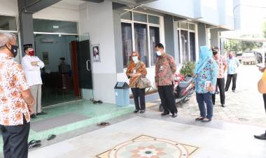Pondok Pesantren di Tangerang 10 Santrinya Terpapar Covid, Satgas Pandemi Pastikan Prokes