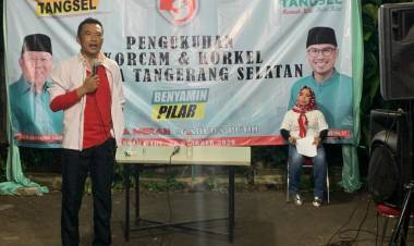 Dukung Ben-Pilar di Pilkada Tangsel, Tb Bayu Murdani Sebut Program Paslon Lain Tak Logis