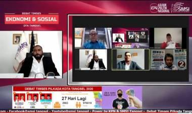 Debat Sesi III Pilkada Tangsel, Panelis Sebut Visi Paslon Masih Lembek Soal Penyakit Sosial