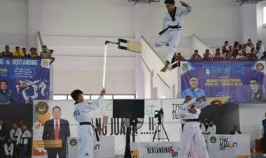 Tim Taekwondo Kabupaten Tangerang Berhasil Juara Umum Antar Pelajar Se-Banten