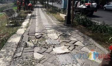 Proyek Paving Block Kecamatan Pakuhaji Dinilai Banyak Kejanggalan