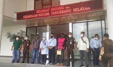 Kanwil DJP Provinsi Banten Limpahkan Kasus Penemplangan Pajak Ke Kejari Tangsel