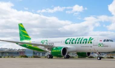 Citilink Batalkan Pemberhentian Penerbangan Selama Larangan Mudik