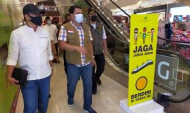 Sekda Kabupaten Tangerang Monitoring Prokes di Tempat Wisata : Jika Terjadi Pelanggran, Tutup!