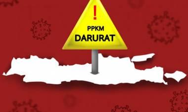 Aksi Demonstrasi Tolak PPKM Level 4 di Kantor Walikota Tangsel Ricuh