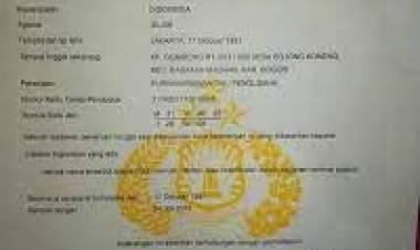 Jual SKCK Palsu, Pegawai Warnet di Rajeg Dibekuk Polisi