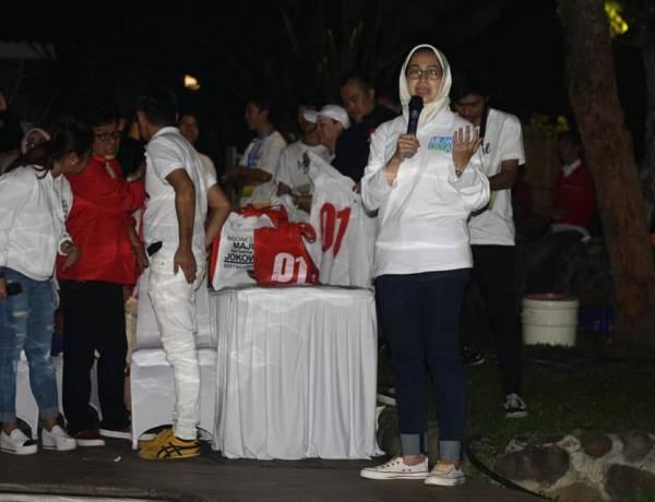 Jokowi Banyak di Black Campaign di Tangsel, Airin : Masyarakat Harus Diberi Data dan Fakta yang Benar