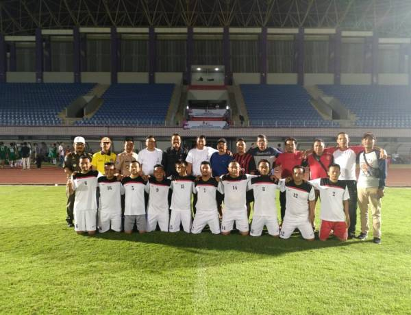 Peringati HUT Pramuka, Kwarran Kab Tangerang Bangga Bisa Bertanding di Stadion Kelapa Dua Versi Eropa