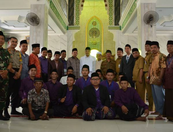 Resmikan Masjid di Bojong Renged, Zaki Pesan Jaga Kerukunan Antar Masyarakat