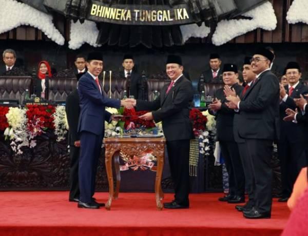 Ucapkan Sumpah Sebagai Presiden 2019-2024, Jokowi Ingin Bawa Indonesia Masuk 5 Besar Raksasa Ekonomi Dunia