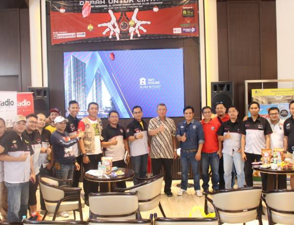 Donor Darah Gabungan Klub Otomotif, Wakil Walikota Tangsel Titip Pancasila