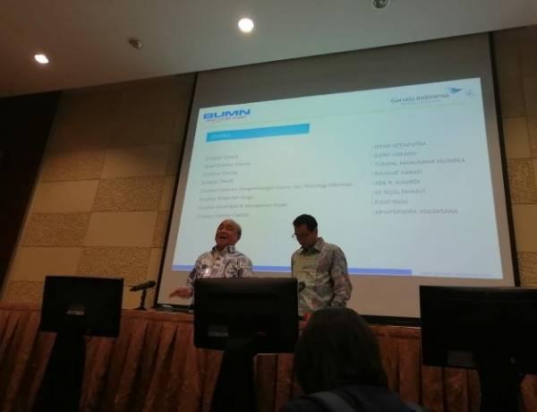Garuda Indonesia Punya Dirut Baru, 2 Direktur Lama Masih Bercokol
