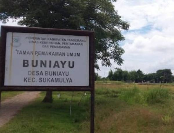 TPU Buniayu Jadi Lokasi Pemakaman Korban Corona, Warga Bupati Zaki Diminta Jangan Panik