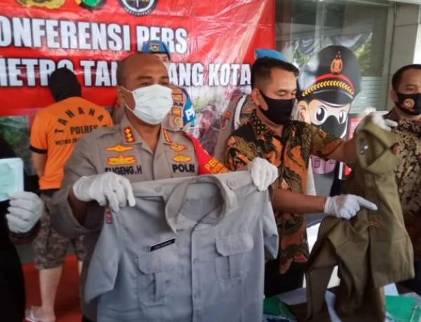 Mahar Ratusan Juta Dijanjikan Jadi PNS , Oknum Pegawai Pemkot Tangerang Dibekuk Polisi