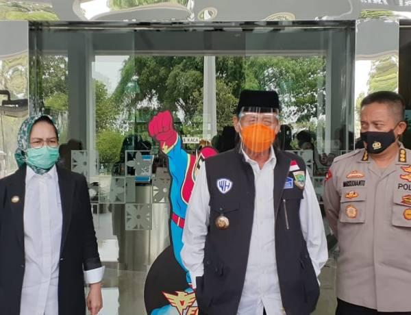Sambangi Airin, Gubernur WH Cek Kesiapan Pilkada Tangsel Saat Pandemi