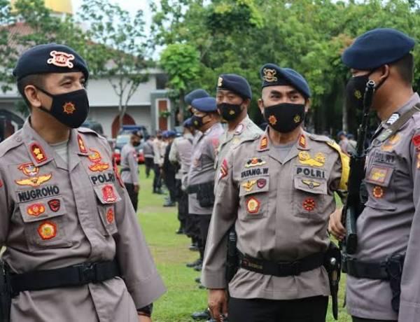Ribuan Personal dari Polda Banten Siap Amankan Pilkades Serentak di Lebak