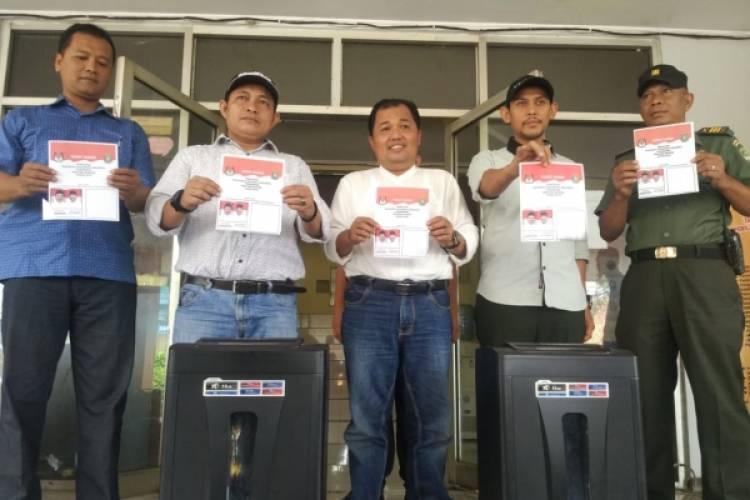 KPU Kota Tangerang Musnahkan 1.848 Surat Suara Rusak.