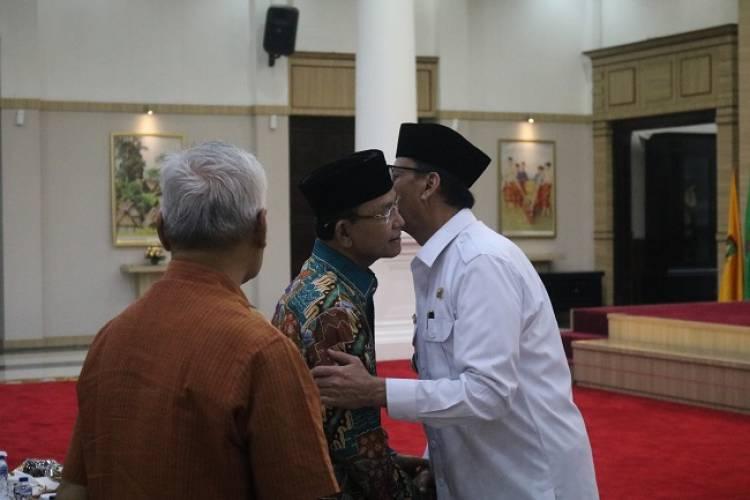 Gubernur Harapkan Dukungan dan Kritik KAHMI Banten untuk Sukseskan Pembangunan
