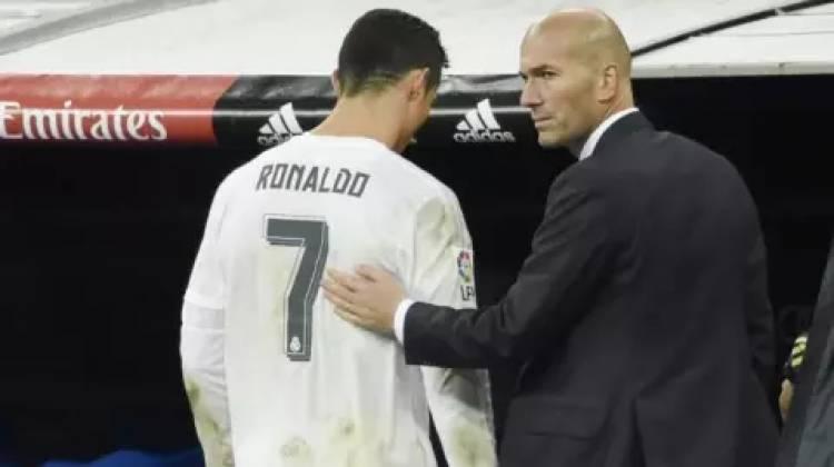 Kompak Tinggalkan Real Madrid, Zidane Dan CR7 Punya Alasan Yang Sama