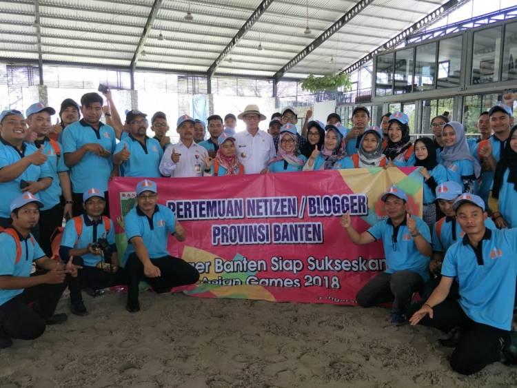 Gubernur Temu Blogger Banten untuk Sukseskan Asian Games 2018