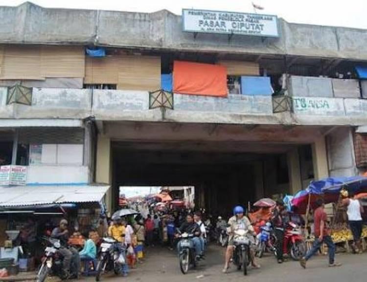 Revitalisasi Pasar Ciputat, Disperkimta: Sudah Tahap Pembebasan Lahan