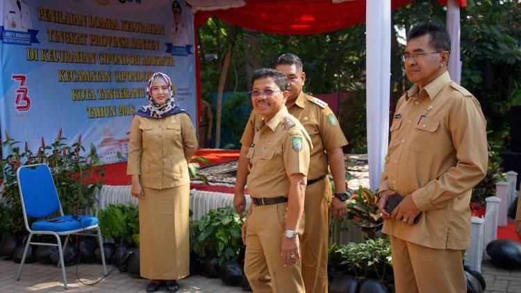 Kelurahan Cipondoh Makmur Terpilih Sebagai Kandidat Lomba Kelurahan Tingkat Provinsi Banten