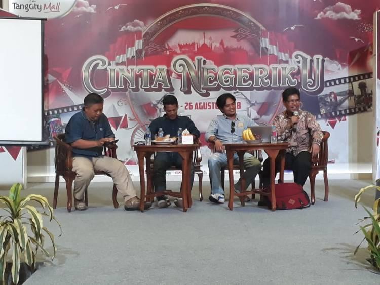 Lawan Hoax via Diskusi Pokja Wartawan Harian Tangerang!