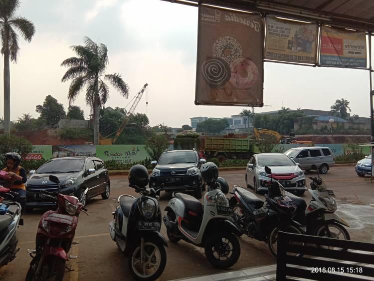 Dikeluhkan, Pembangunan Mal Paradise Sudah Dapat 'Restu' BKPRD Tangsel