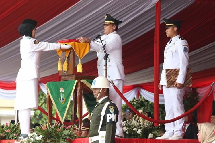 HUT RI 73, Gubernur Ajak Masyarakat Banten Jadi Penerus Pejuang Kemerdekaan
