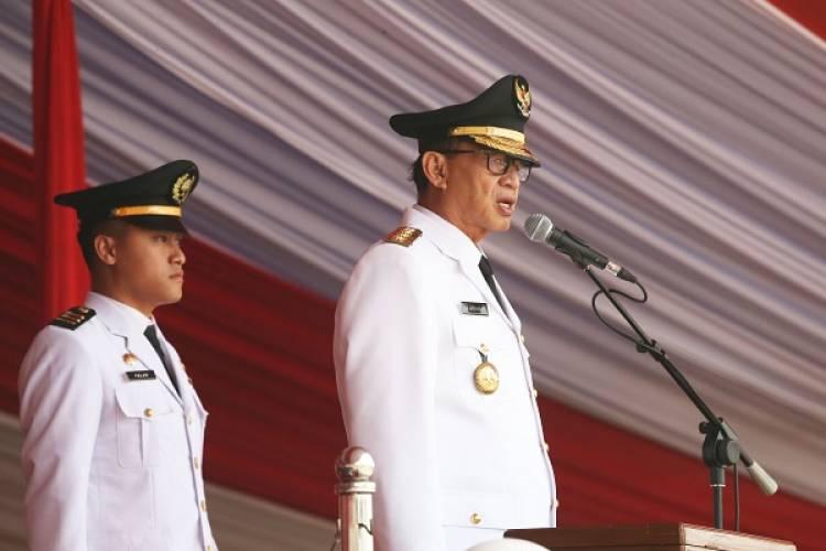 HUT RI 73, Gubernur Banten : Orang yang Menentang Pendidikan Gratis, Itu Penjajah.!