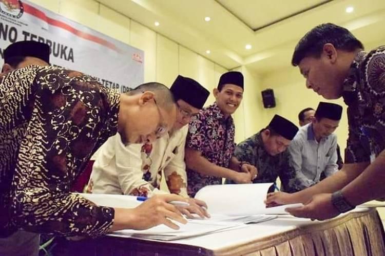 Sah! 1.061.880 Pemilih Ditetapkan KPU Kota Tangerang