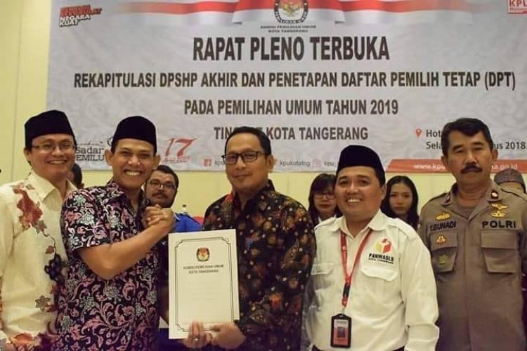 KPU Kota Tangerang Coret 12 TPS di Penjara