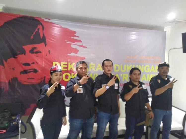 Relawan Gatot Nurmantyo Dukung Jokowi-Ma'ruf Amin di Pilpres 2019