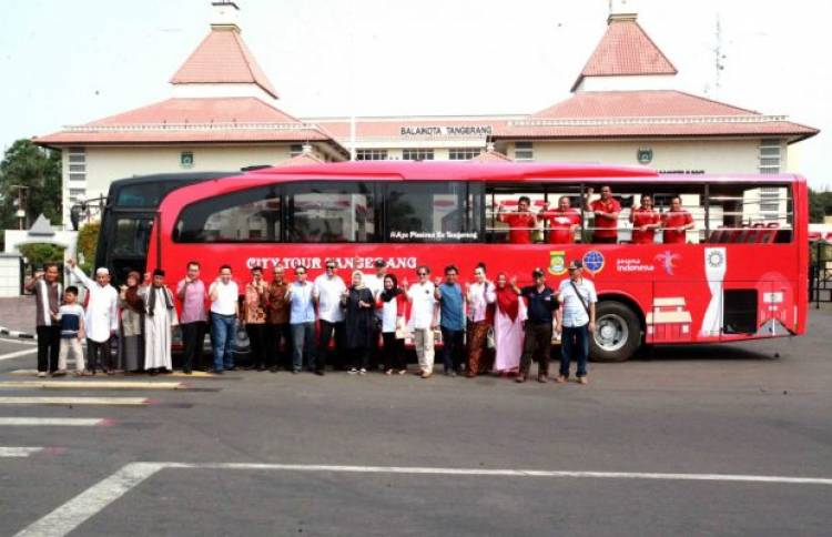 Kota Tangerang Mulai Operasikan Bus khusus Wisata