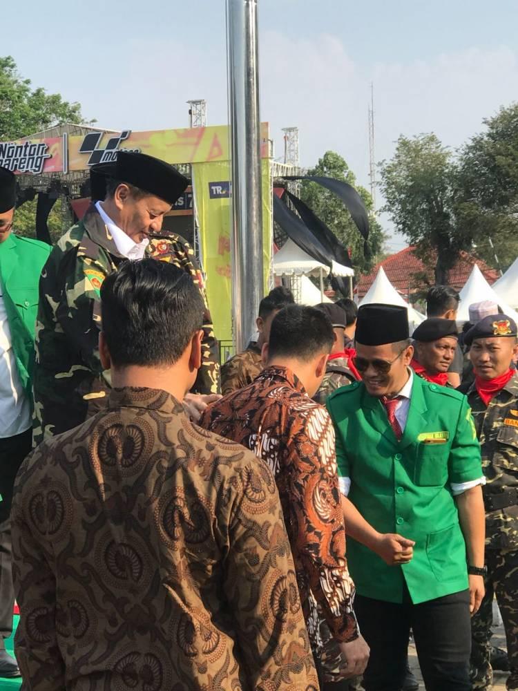 Gubernur Banten Ajak GP Ajak Ansor dan Banser Kawal Program Pendidikan Gratis