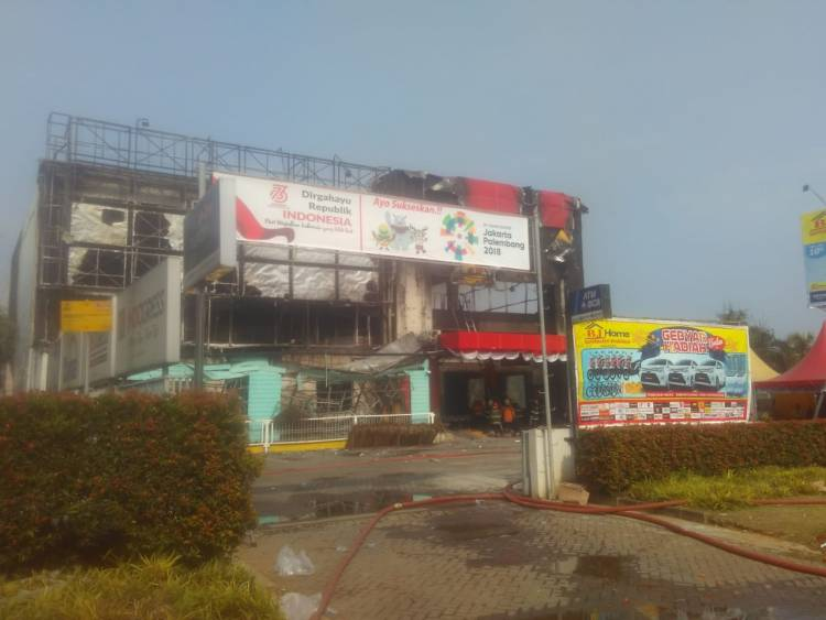 Habiskan Seluruh Isi Bangunan, Ini Penyebab Kebakaran Supermarket BJ Home