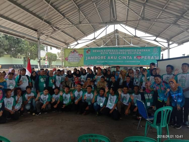 Dekonpinda dan Dinas UMKM Koperasi, Cetak Entrepreneur Muda Lewat Jambore 'Aku Cinta Koperasi'