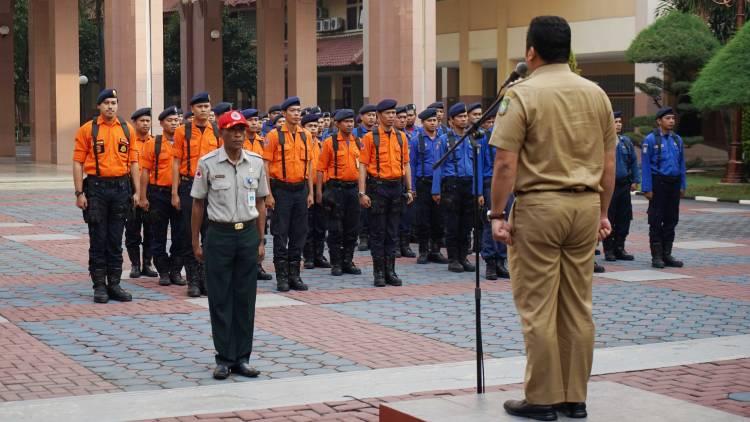 Pegawai dan PGRI Kota Tangerang Kirim Bantuan Ke Lombok